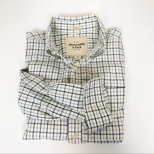 Abercrombie & Fitch | Muscle Plaid Flannel